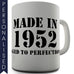 Aged To Perfection Personalised Mug - Twisted Envy Funny, Novelty and Fashionable tees