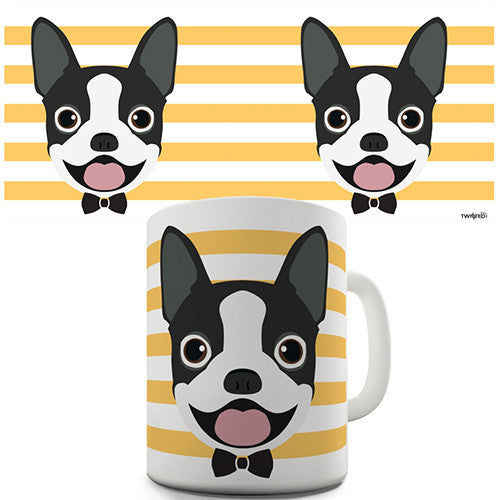 Boston Terrier Novelty Mug