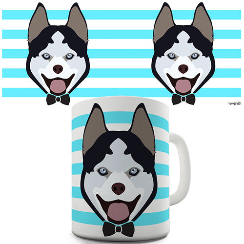 Husky Dog Novelty Mug