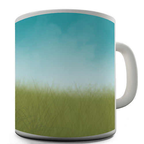Clear Blue Sky Novelty Mug