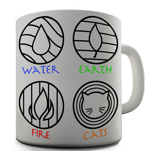 Egyptian Elements Novelty Mug