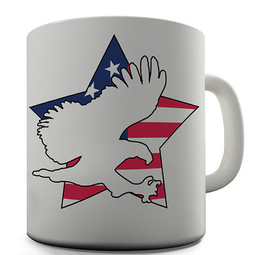America Star Eagle Novelty Mug