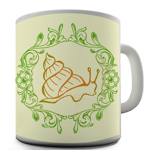 Forest Snail Novelty Mug