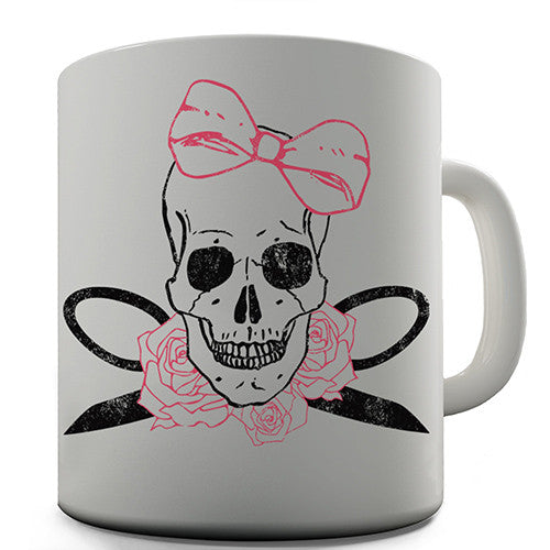 Cute Skull Novelty Mug