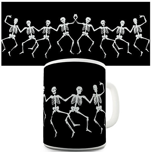 Dancing Skeletons Novelty Mug