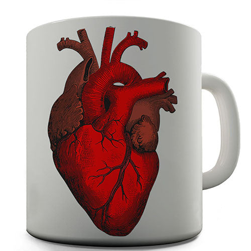 Anatomically Correct Heart Novelty Mug