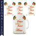 Christmas Bells Personalised Mug - Twisted Envy Funny, Novelty and Fashionable tees