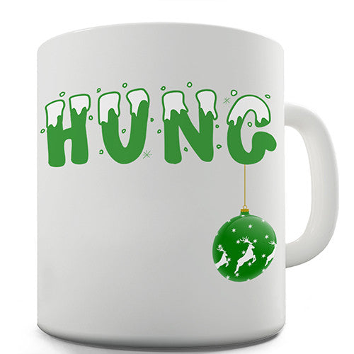 Festive Hung Novelty Mug
