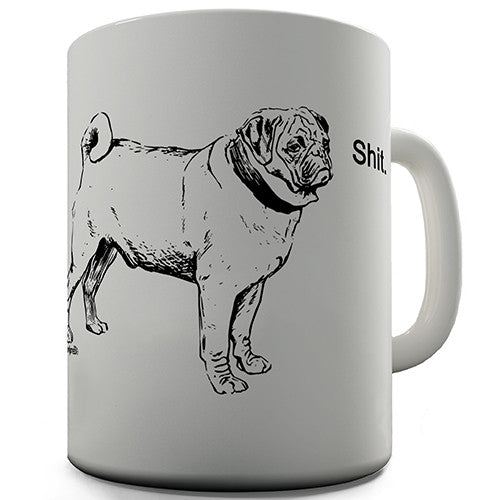 Foul Mouth Pug Novelty Mug