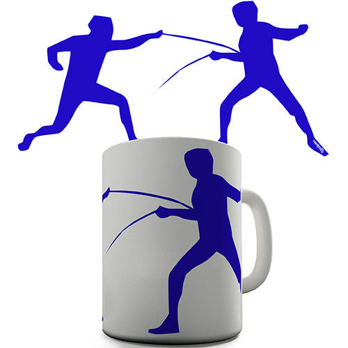 Fencing Novelty Mug
