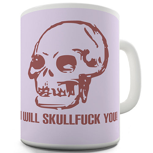 Anarchist Skull Novelty Mug