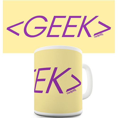 Geek Novelty Mug