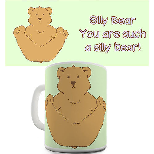 Cute Silly Bear Novelty Mug