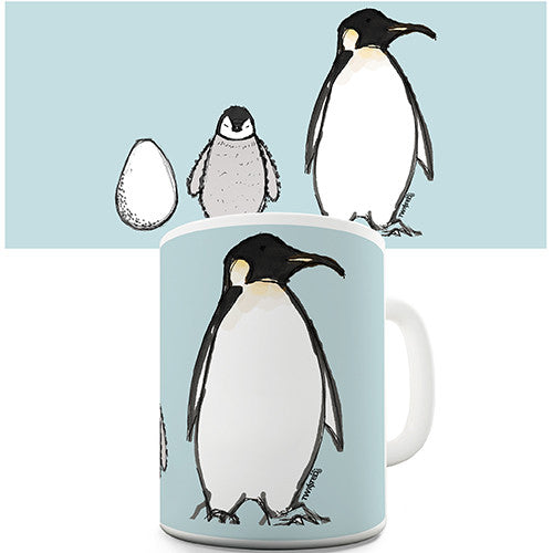 Emperor Penguin Novelty Mug