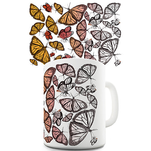 Butterflies Pattern Novelty Mug