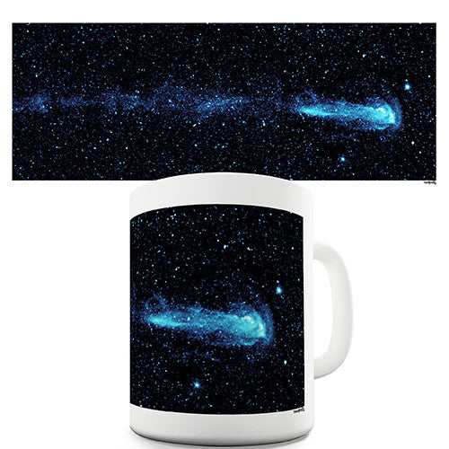 Comet In Space Novelty Mug