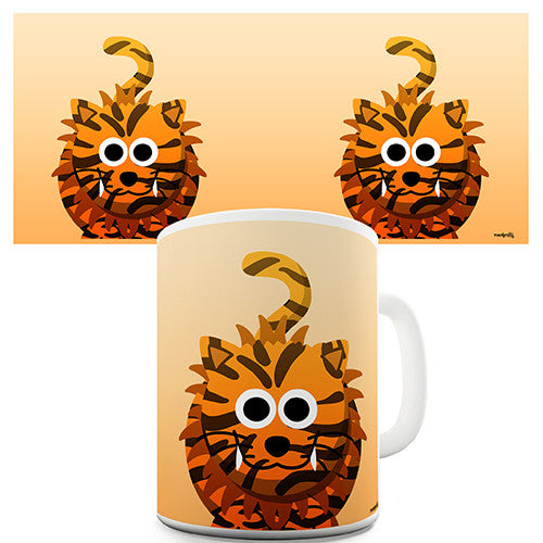 Cute Tiger Novelty Mug