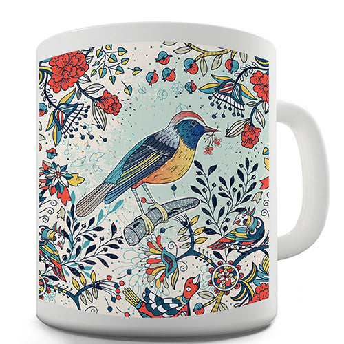 Bright Bird Novelty Mug