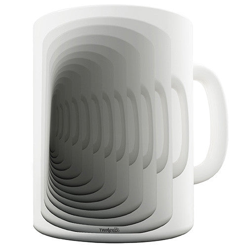 Optical Illusions Design Novelty Mug