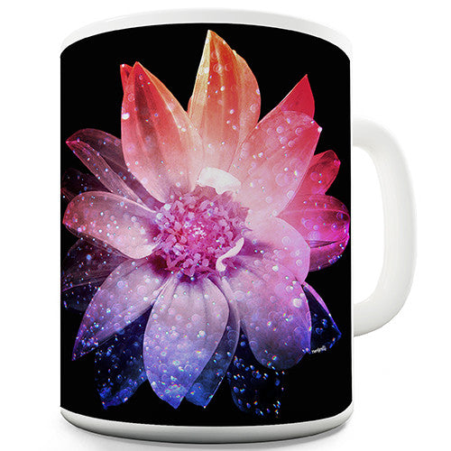 Cosmic Flower Novelty Mug