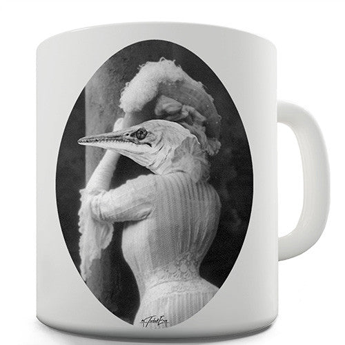 Dinosaur Woman Novelty Mug