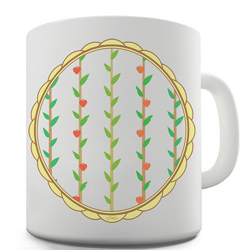 Apple On Branches Novelty Mug