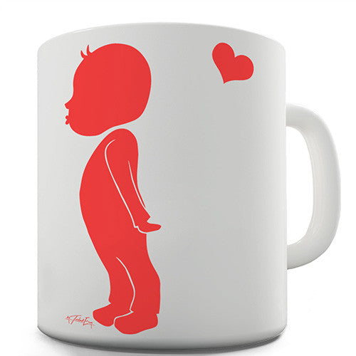 Boy In Love Novelty Mug