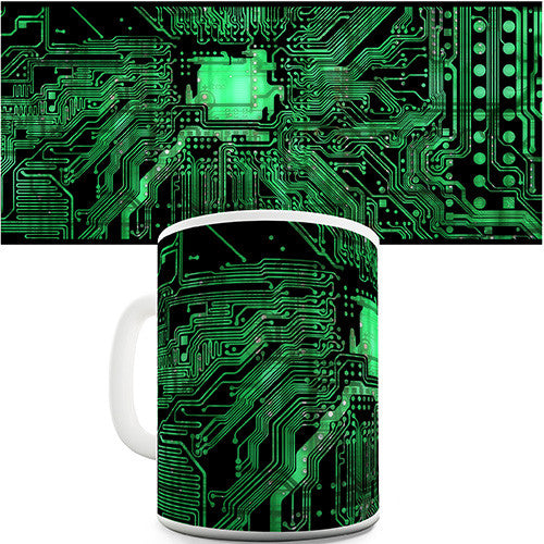 Circuit Board Design Novelty Mug