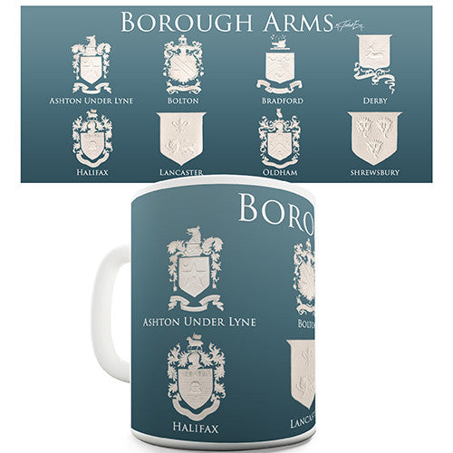Borough Coat Of Arms Novelty Mug