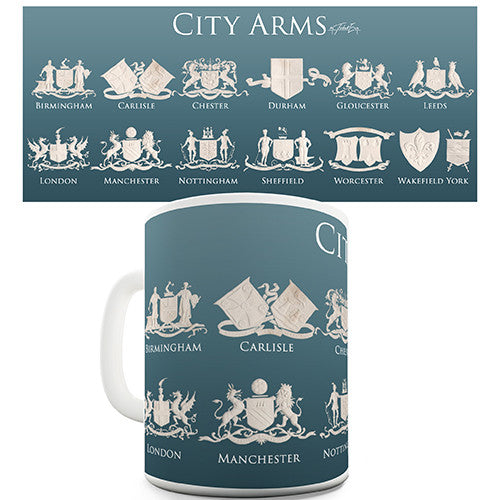 City Coat Of Arms Ceramic Novelty Mug