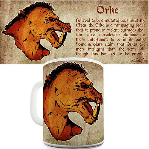 Definition Of An Orc Novelty Mug