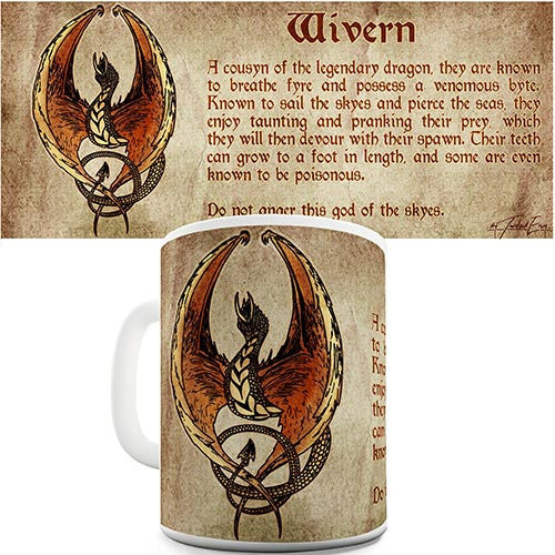 Definition Of A Wyvern Dragon Novelty Mug
