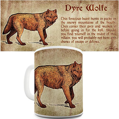 Definition Of A Dire Wolf Novelty Mug