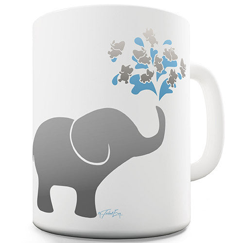Elephant Fountain Novelty Mug