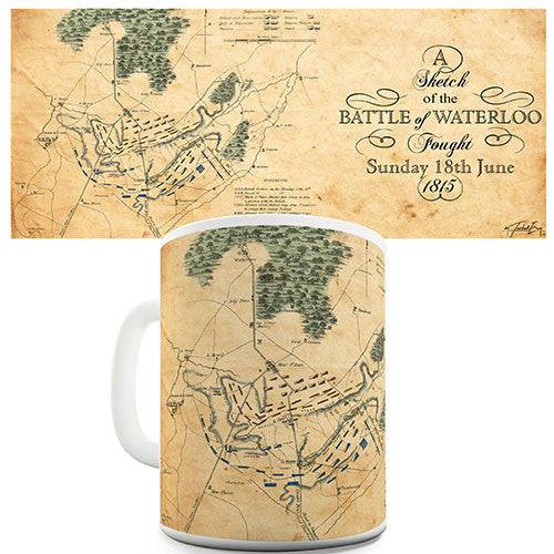 Battle Of Waterloo 1815 Novelty Mug