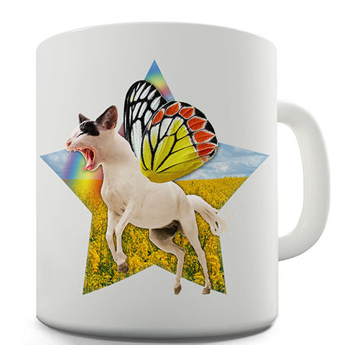 Cat Horse Butterfly Novelty Mug