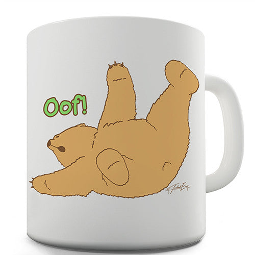 Silly Bear Oof! Novelty Mug