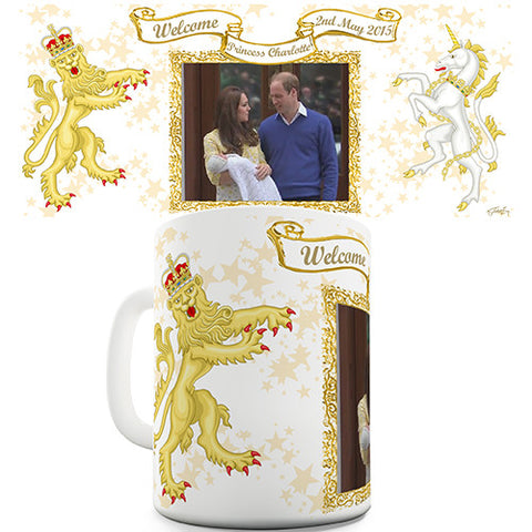 Birth Of Princess Charlotte Novelty Mug