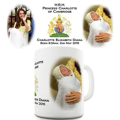 Princess Charlotte Royal Novelty Mug
