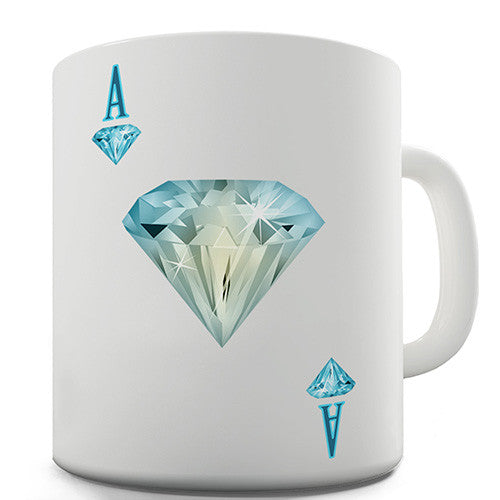 Ace Of Diamonds Novelty Mug