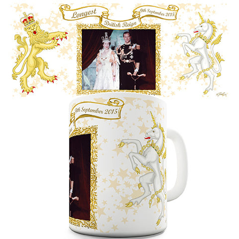 Long Live The Queen Novelty Mug