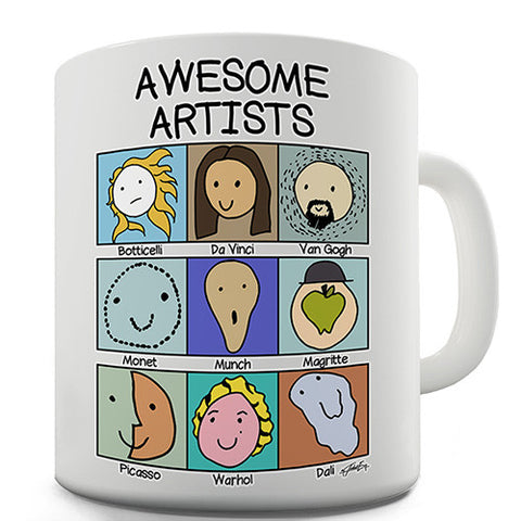 Awesome Artists Novelty Mug