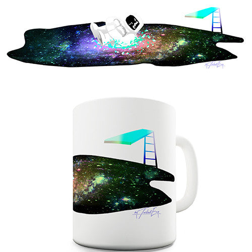 Galactic Swimming Pool Novelty Mug