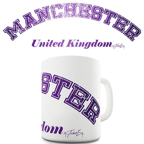 Manchester United Kingdom Novelty Mug