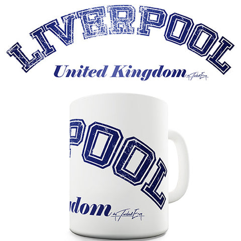 Liverpool United Kingdom Novelty Mug