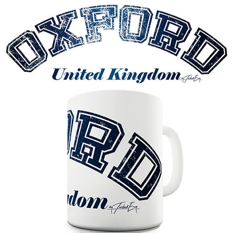 Oxford United Kingdom Novelty Mug