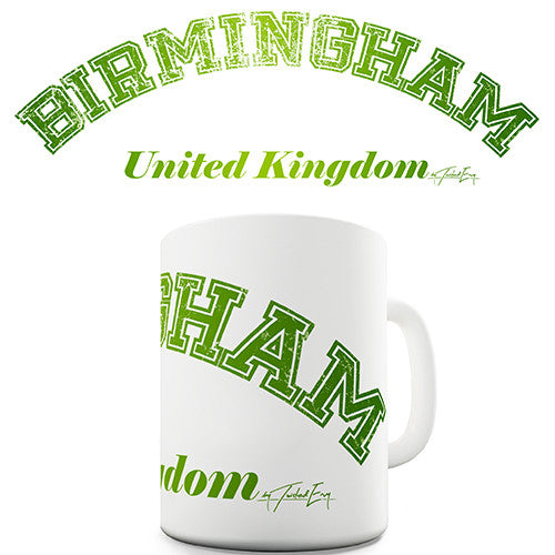 Birmingham United Kingdom Novelty Mug