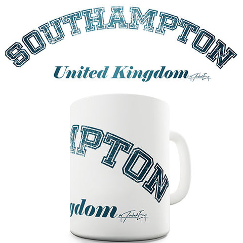 Southampton United Kingdom Novelty Mug