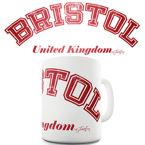 Bristol United Kingdom Novelty Mug