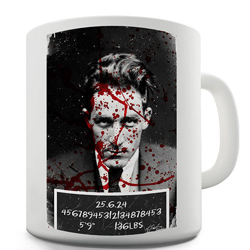 Serial Killer Mugshot Novelty Mug